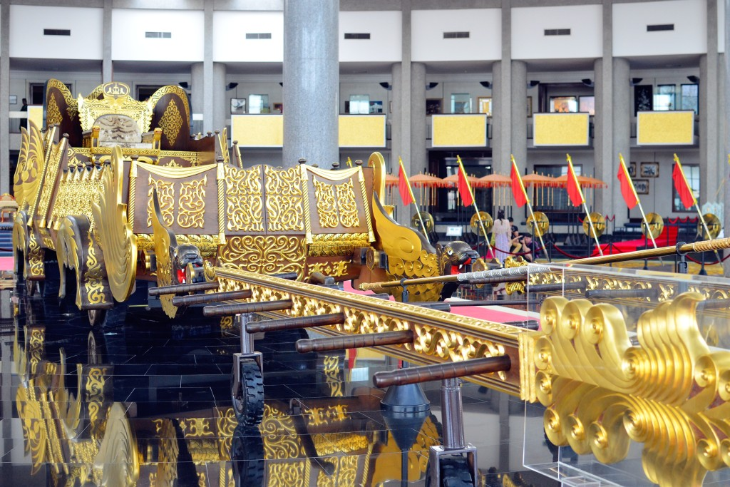 Royal Regalia Museum -- sultan's ride