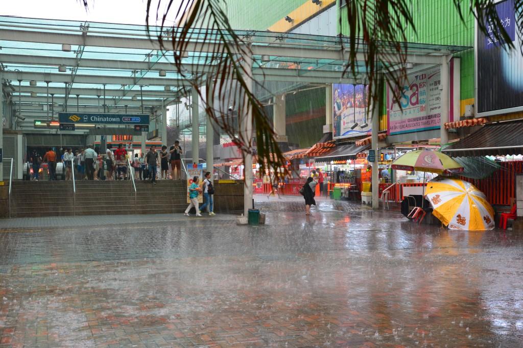 storm hits Chinatown
