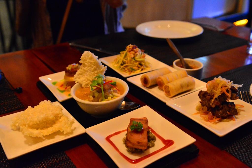 fine dining Khmer cuisine