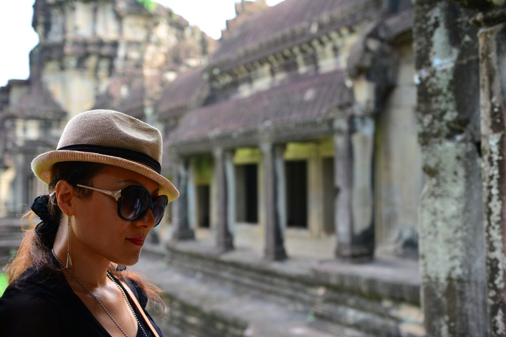 Angkor Wat is a thought-provoking place