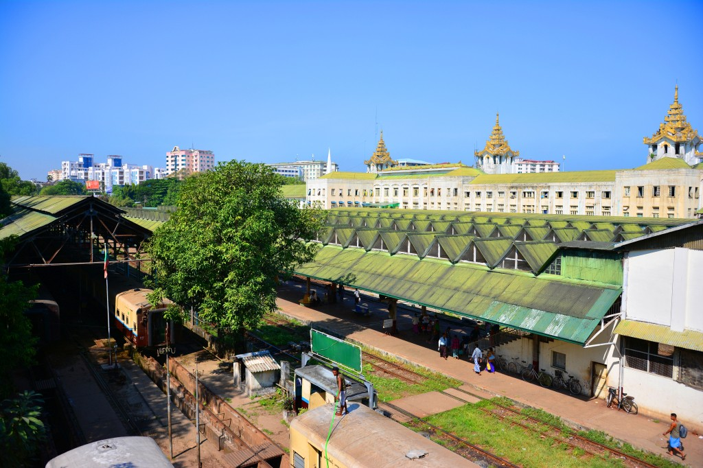 Yangon Central Train Station