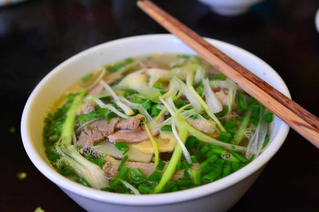 duck and bamboo shoot pho