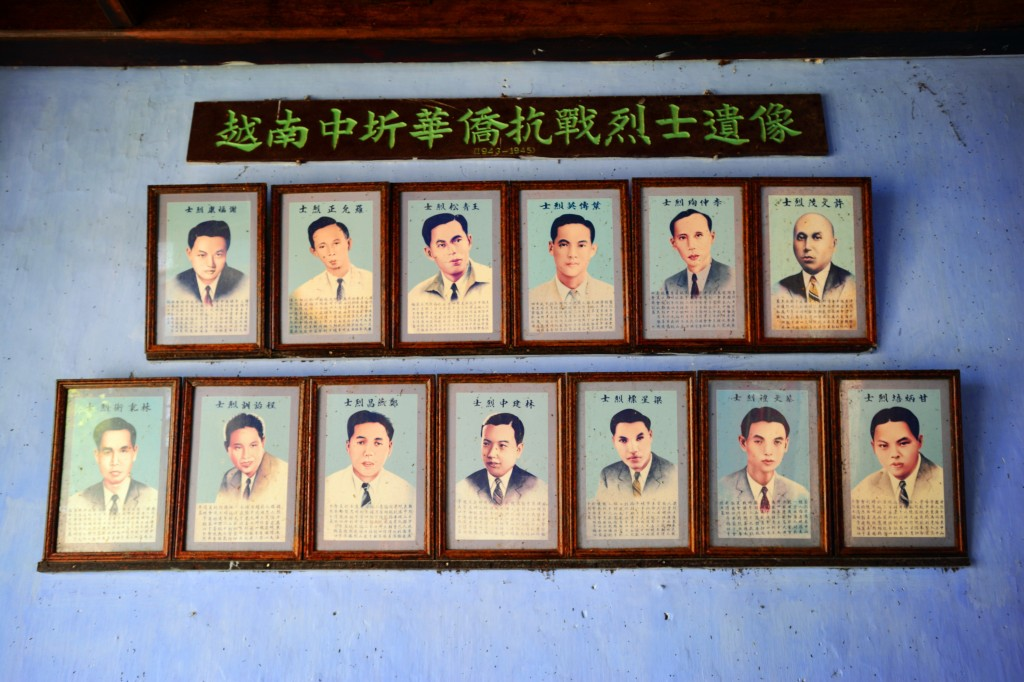 Vietnamese Chinese expats who fought against Japan