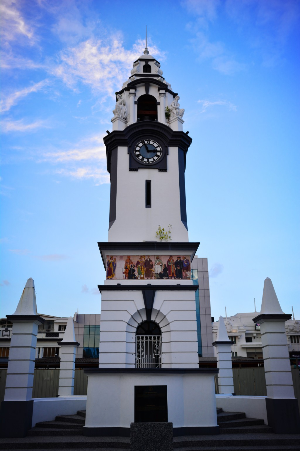 Birch Tower, dedicated to the first British resident of Perak