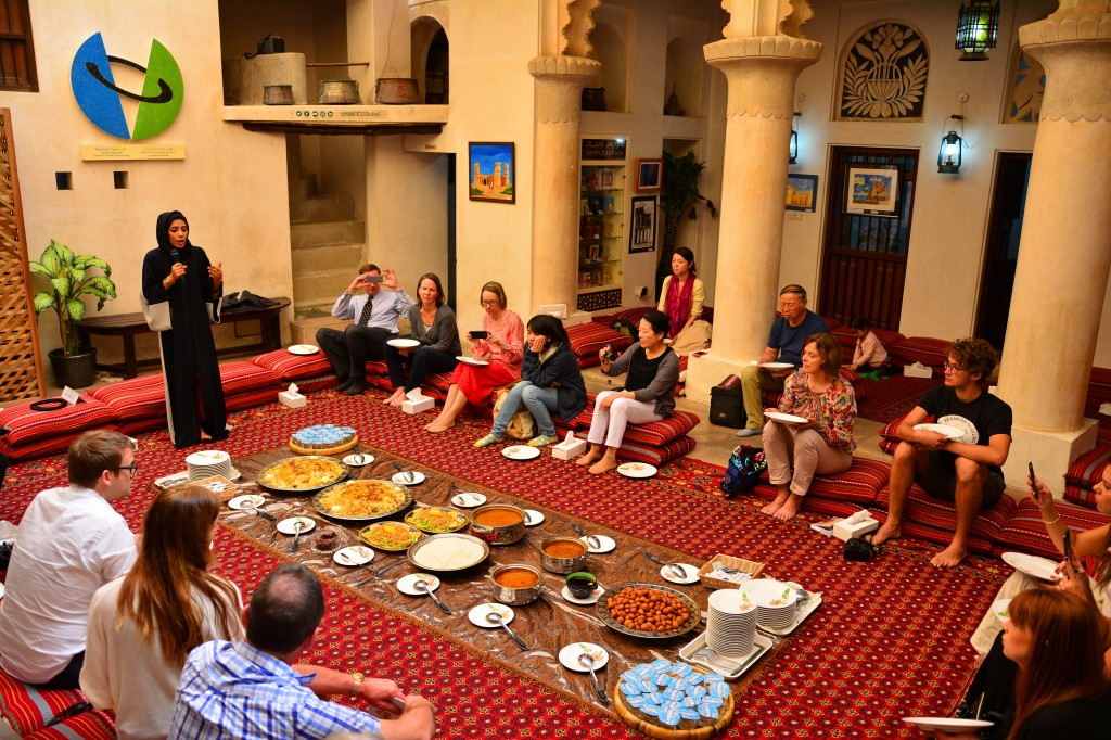 a traditional emirati meal that also came with some fascinating insights into the emirati culture