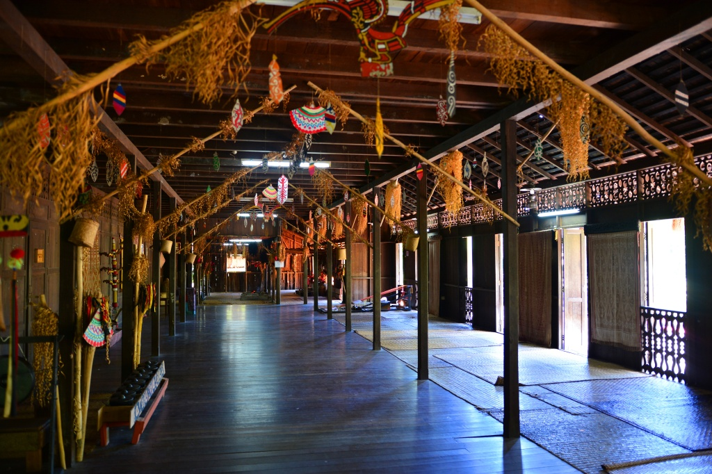 Inside the Iban Longhouse