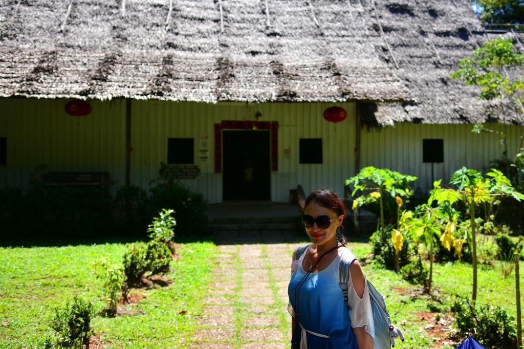 Chinese farm house